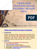 Penilaian Prestasi Kerja PNS 2014