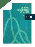 Downie Metodos Estadísticos Aplicados (1973)