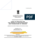 Foundation & Substructure Code