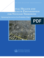 National Center for Disaster Preparedness Nuclear Event-Whitepaper