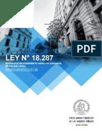 Ley N° 18.287 POLICIA LOCAL