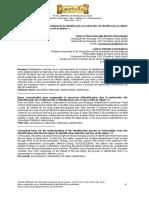 BARRETO, Bases Conceituais Para o Entendimento Da Identificacao Na Melncolia