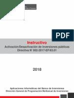 INSTRUCTIVO DE ACTIVACION Y DESACTIVACION DE INVIERTE PE