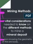 9 Mining Methods