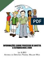 Lei de Anistia a Estrangeiros Fev de 2009
