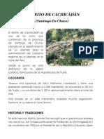 Distrito de Cachicadán