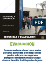 Seguridad y Evacuación