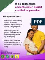 Iec Safe Motherhood