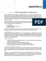 German-Italian Cooperation on Industry 4.0