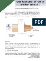 Ejercicio 1 de Primera Ley de Termodinámica (Taller Junio 2018)