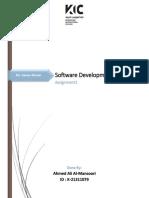 Software Development Process Assignment1