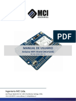 Manual de Usuario Arduino Wifi Shield