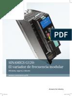 Folleto Sinamics G120