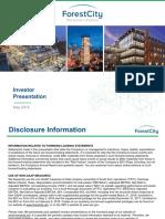 FCE Forest City May '18 Investor Presentation
