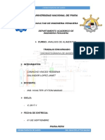 Cromatrografia de Gases- Analisis de Alimentos