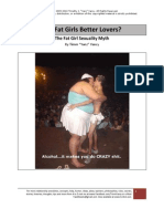 Are Fat Girls Better Lovers - The Fat Girl Sexuality Myth