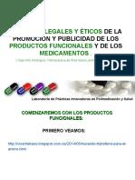 Aspectos Legales Publicidad en Medicamentos