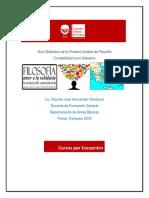 Guia Didactica Primera Unidad 2018