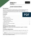 6800 Remote Comms Suppl