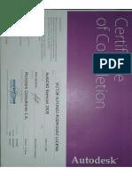 Certificado AutoCAD esencial