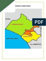 REGIÓN LAMBAYEQUE