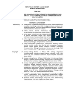 Permendagri No.39 2007
