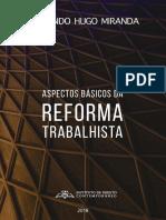 E-book - Reforma Trabalhista - Fernando Hugo Miranda