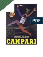 Pubblicita Campari 1960