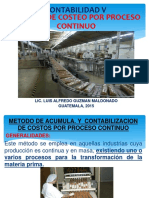 Contabilidad v Metodo de Costeo Por Proc