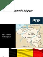 la belgique presentation