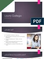 Laura Gallego, información