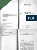 Sanguineti, Juan José - Filosofía de La Naturaleza (Teoría Hilemórfica)