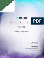 Cryzen Whitepaper (Draft)