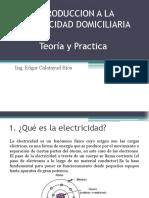 Introduccion a La Electricidad Domiciliaria