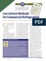 5 Defrost Methods for Commercial Refrigeration