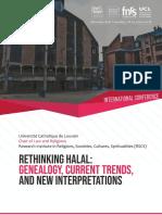 Rethinking Halal