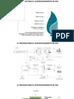 IV. Procesos Para El Acondicionamiento de Gas