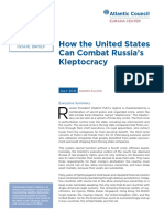 How the United States Can Combat Russia's Kleptocracy