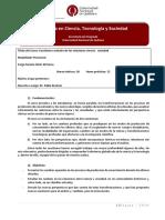 Cuestiones Actuales de Las Relaciones Ciencia -MCTS_UNQ 2016