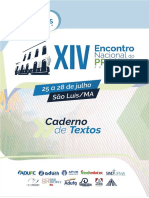 Caderno Textos Proifes 2018