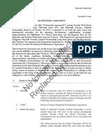 Framework Agreement - Waterfront Toronto / Sidewalk Labs