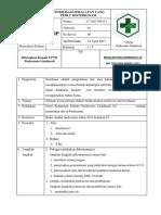 BAB VII 7.3.2.2b SOP Sterilisasi Peralatan Yang Perlu Disterilisasi
