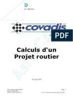 Covadis Formation Cours Projet Routier