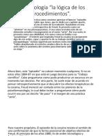 La Toxicología Del Libro Intro a La Epistemologia Freudiana