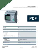6ED10521MD080BA0 Datasheet Es