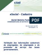 eSocial - Cadastro