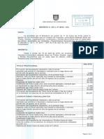 Impuestos Universitarios 2018 Decreto 2018 016