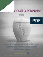 Revista Muerte y Duelo Perinatal Numero 3