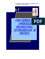 6 - Aprendizaje Organizacional.