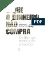 Baixar O Que o Dinheiro Não Compra Livro Grátis (PDF EPub Mp3) - Michael J. Sandel